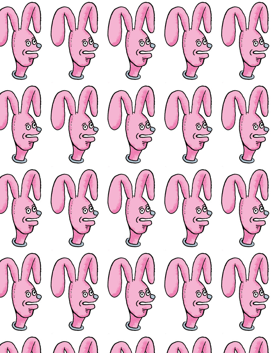 Bunny pattern, personal approach 2017