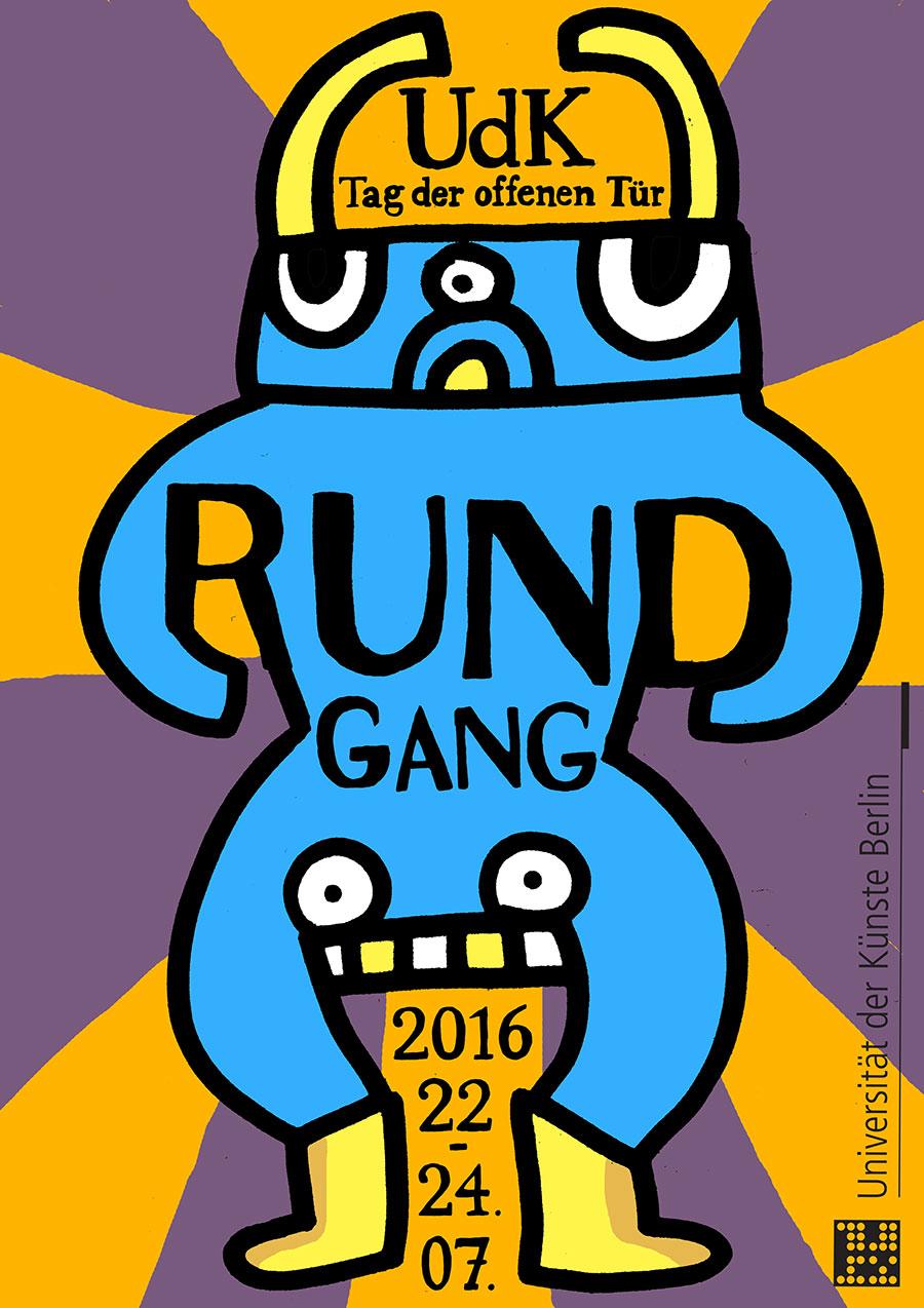 Rund gang poster