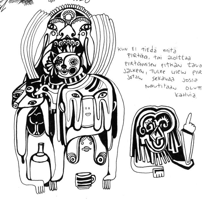 kaffel,kaljal,2011 sketch
