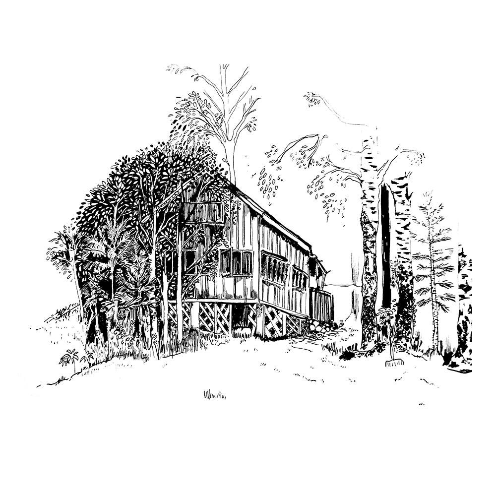 sommerhouse, sketchbook